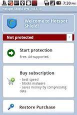 cách vào facebook khi bị chặn trên điện thoại android bằng phần mêm hostspot shield
